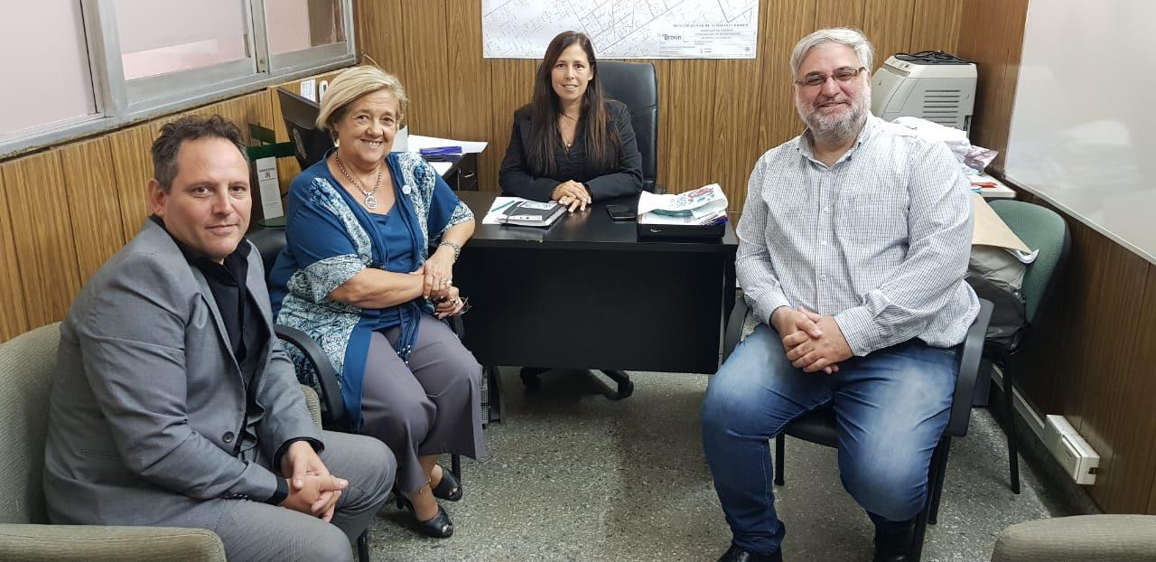 Reunion de fortalecimiento regional en Alte Brown