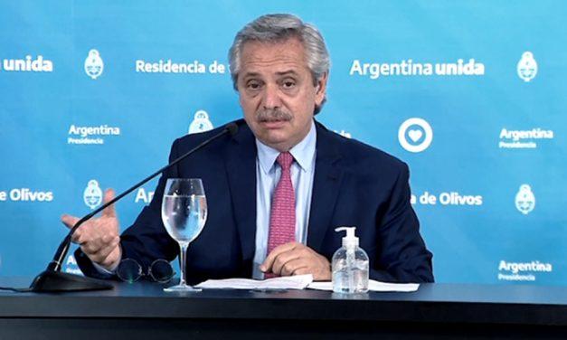 Alberto Fernández al dueño de Techint: «¡Hermano, ésta vez colaborá!»