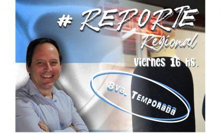 Hoy arranca la octava temporada de Reporte Regional por la radio