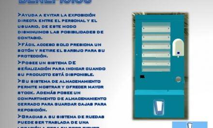 La PYME INTELMaq diseño una maquina expendedora de Barbijos