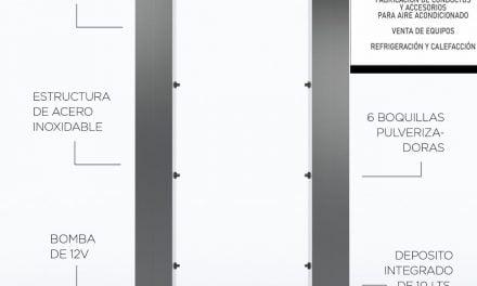 Air mo agrega cabinas sanitizantes a sus productos producidos en Quilmes