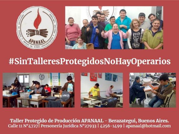 Talleres protegidos APANAL con riesgo de cierre definitivo