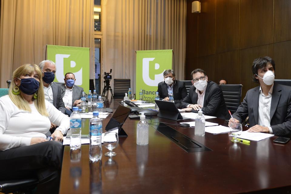 FOCAVA fue invitada por el Banco Provincia a participar de sus Consejos Consultivos