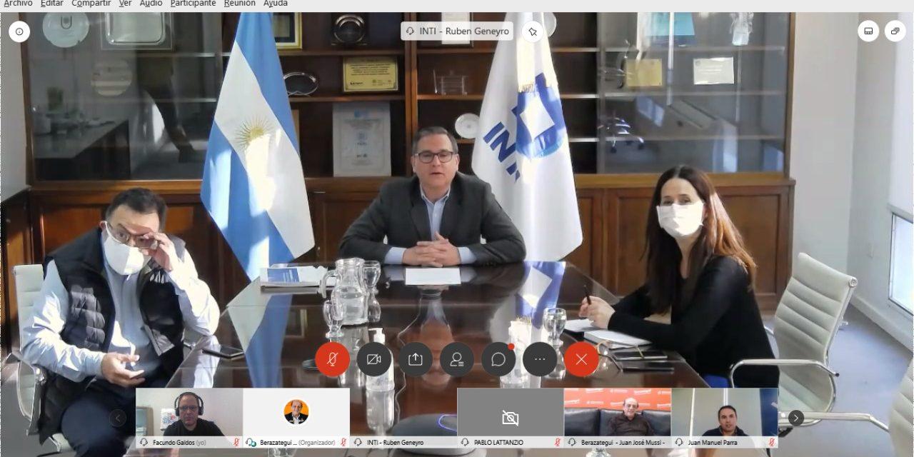 Autoridades de FOCAVA y CGERA Regional participaron de la presentacion del INTI en Berazategui