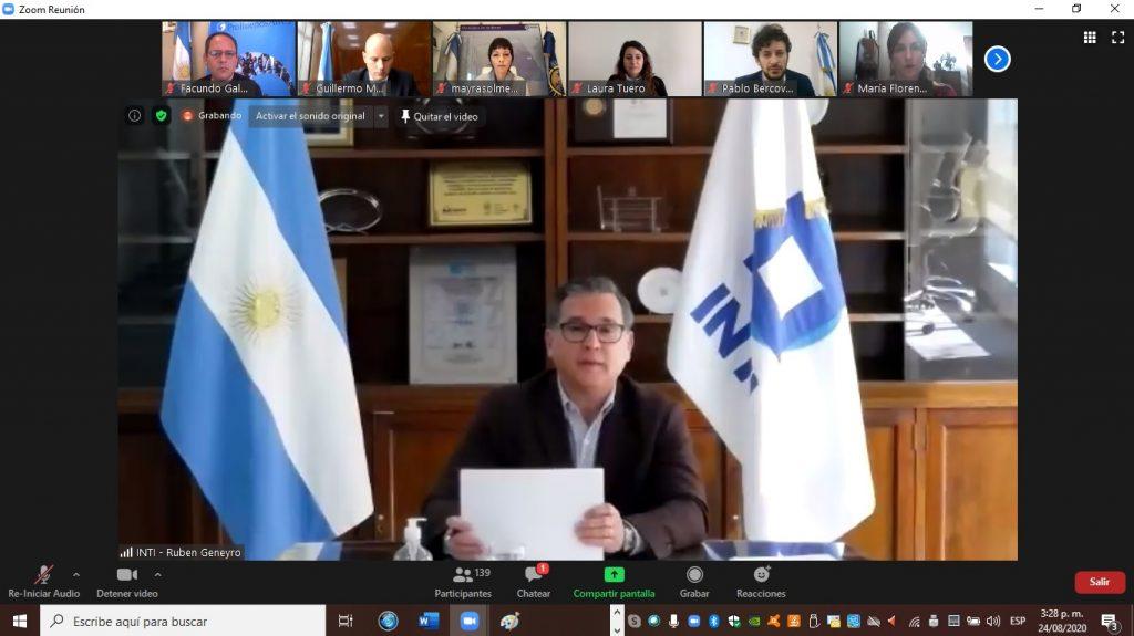 Ruben Geneyro, titular del INTI