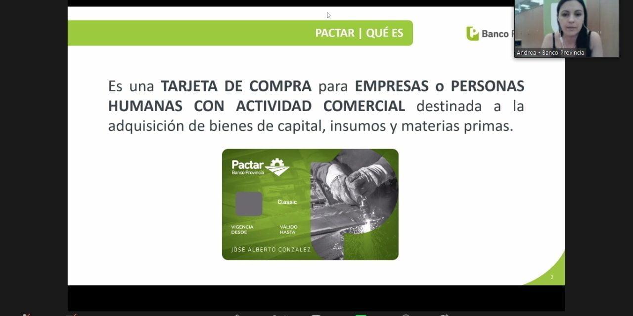 El Banco Provincia presentó herramientas a pymes agrupadas en las Cámaras FOCAVA y de Cerveceros Artesanales