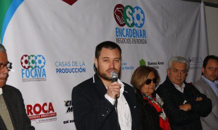 Encadenar reconoce al Director Provincial de Industria Leonel Daglio y su equipo