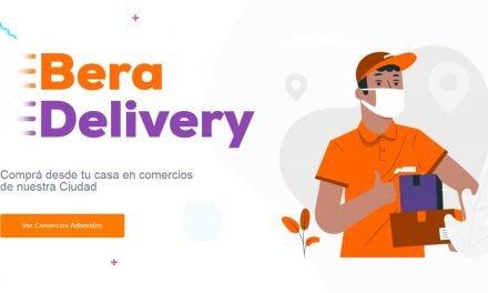Bera Delivery recibió más de 56 mil visitas en 2020. Es para impulsar el comercio local
