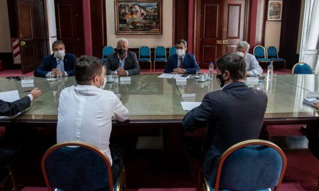 CEPBA y otras entidades pymes se reunieron con el gobernador Axel Kicillof