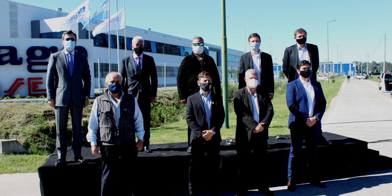 Kicillof se reúne con el consejo industrial de la Provincia en Ezeiza