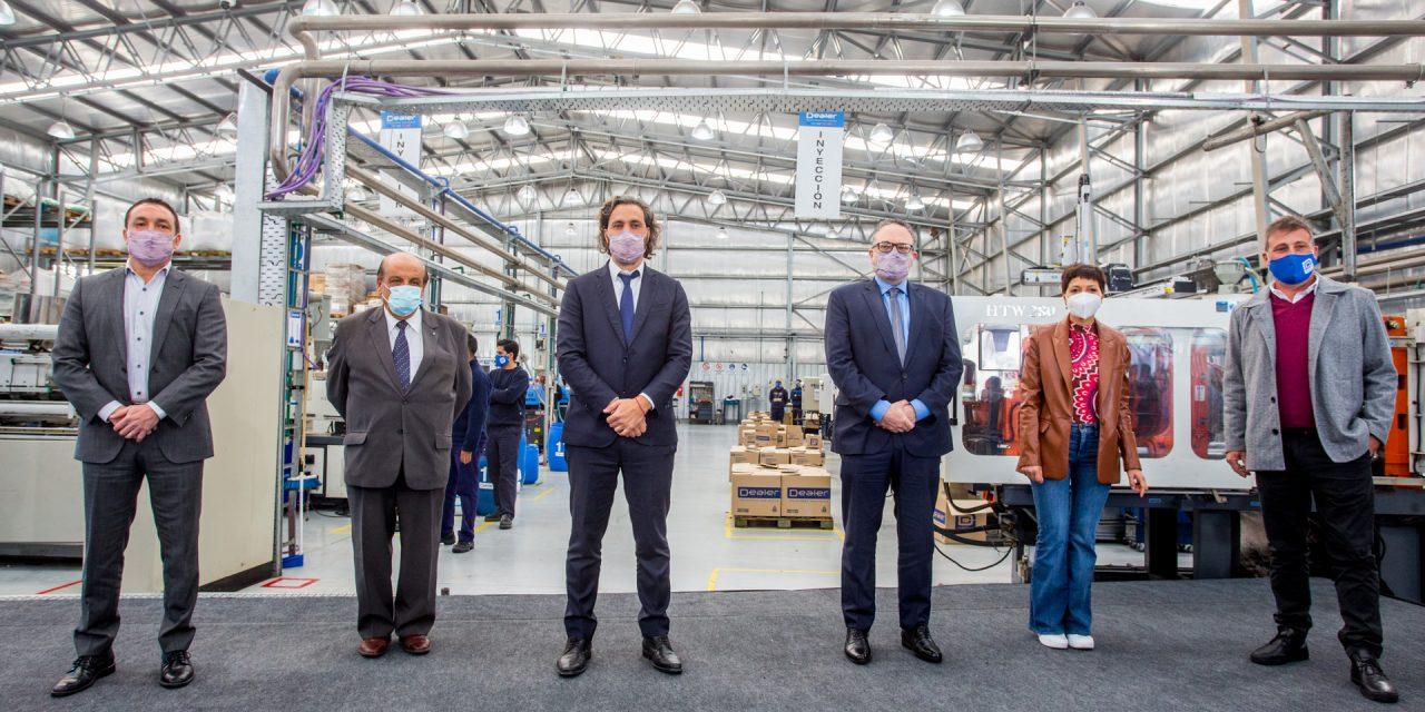 Cafiero y Kulfas con Mussi y Watson en Encuentro para la Reactivación Productiva en Berazategui