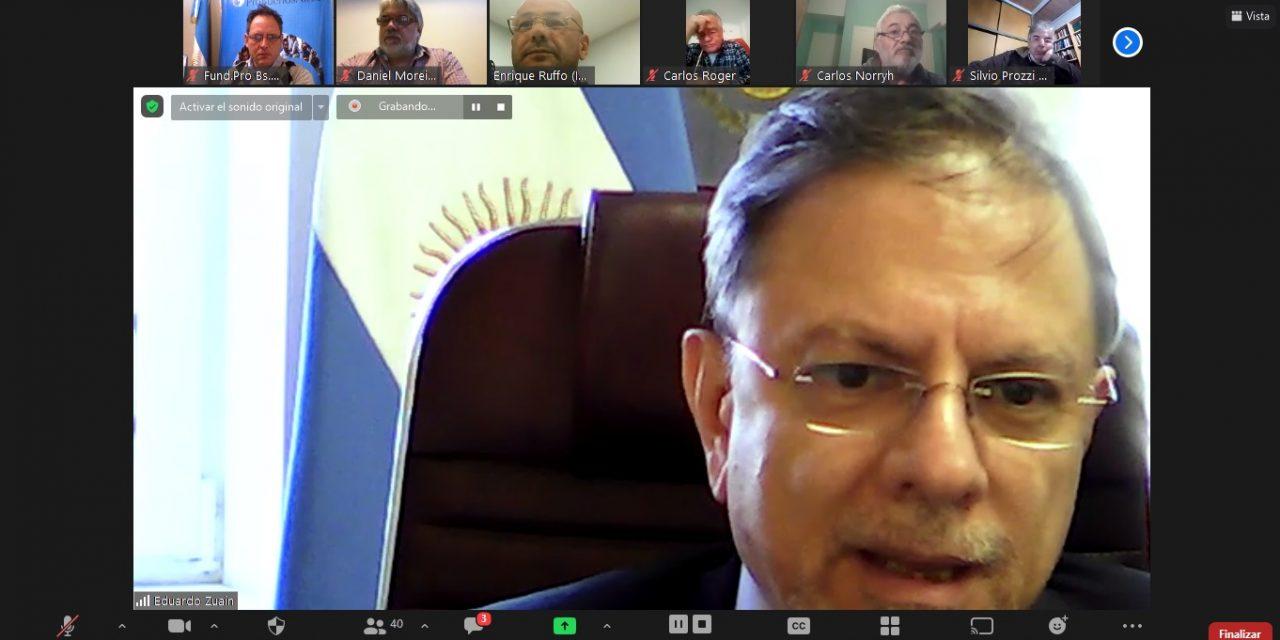 Presentaciones con Embajadores argentinos MNUP
